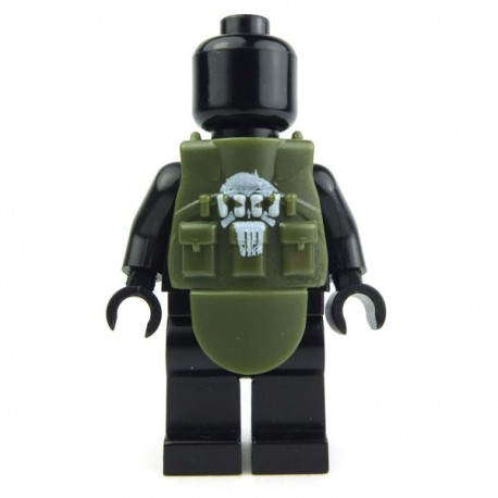 """Tactical Vest L4s """"Punisher"""" (Military Green)"""