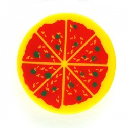 Pizza Tile, Round 2x2
