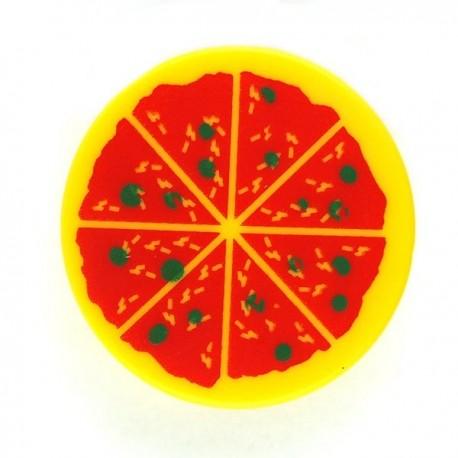 Lego Accessoires Minifig Pizza - Tile rond 2x2 (La Petite Brique)