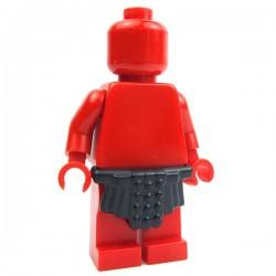 Lego Accessoires Minifig Custom BRICK WARRIORS Jupe Romaine (Noir) La Petite Brique