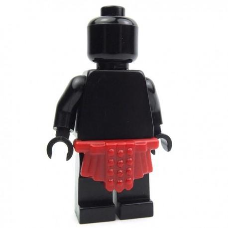 Lego Accessoires Minifig Custom BRICK WARRIORS Jupe Romaine (Dark Red) La Petite Brique