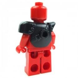 Lego Accessoires Minifig Custom BRICK WARRIORS Armure City Watch (Noir) La Petite Brique