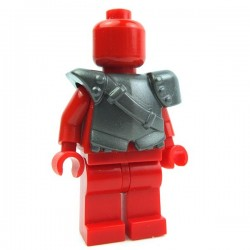 Lego Accessoires Minifig Custom BRICK WARRIORS Armure City Watch (Steel) La Petite Brique