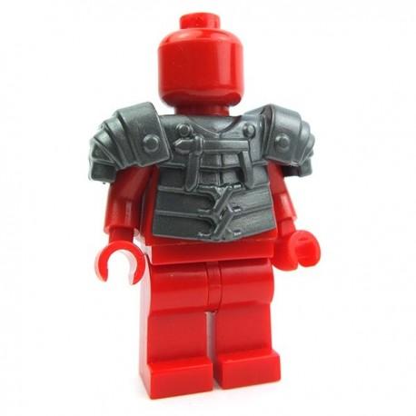 Lego Accessoires Minifig Custom BRICK WARRIORS Lorica Segmentata (Steel) La Petite Brique