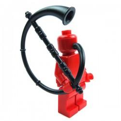Lego Accessoires Minifig Custom BRICK WARRIORS Cornu (Noir) La Petite Brique