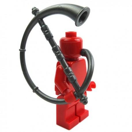 Lego Accessoires Minifig Custom BRICK WARRIORS Cornu (steel) La Petite Brique
