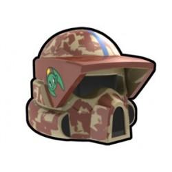 Lego Custom Minifig AREALIGHT Tan ARF Boil Helmet v2 (La Petite Brique)