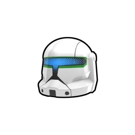 Lego Custom Minifig AREALIGHT White Commando Dikut Helmet (La Petite Brique)