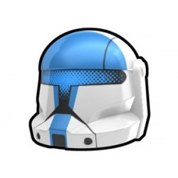 White Commando Zag Helmet