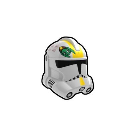Lego Custom Minifig AREALIGHT White Waxer Trooper Helmet (La Petite Brique)