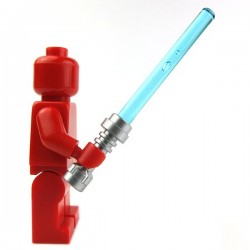 Lightsaber blue (Metallic Silver)