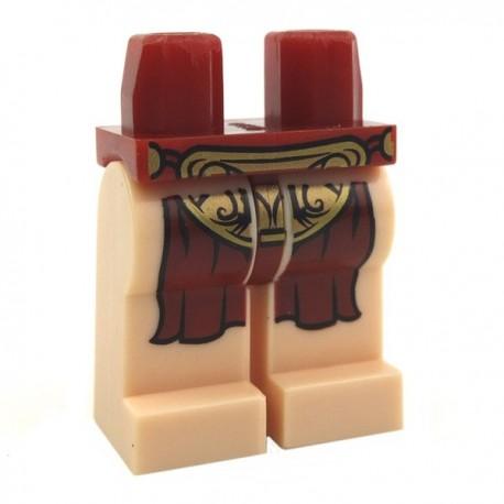 Lego Accessoires Minifig Jambes - pagne (Light Flesh) (La Petite Brique)