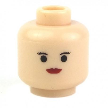 Lego Accessoires Minifig Tête féminine chair 06 (La Petite Brique)