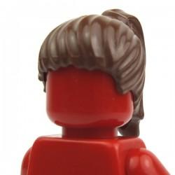 Lego Accessoires Minifig Cheveux Queue de cheval (Reddish Brown) (La Petite Brique)