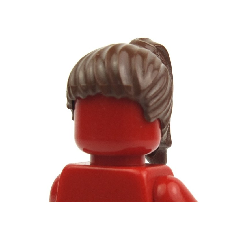 LEGO Red City Female Minifig Ponytail Hair Body Part Accessory