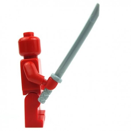 Lego Accessoires Minifig Katana (Pearl Light Gray) (La Petite Brique)