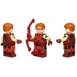 Lego Custom Minifig BRICKMOC Crimson Archer (La Petite Brique)