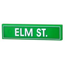 Lego Accessoires Minifig CUSTOM BRICKS Elm Street (Tile 1x4) (La Petite Brique)