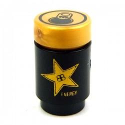 Lego Accessoires Minifig CUSTOM BRICKS Canette de Soda, Brickstar Energy Drink (Gold) (La Petite Brique)
