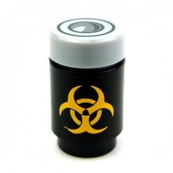 Lego Accessoires Minifig CUSTOM BRICKS Bio Hazard Canister (Noir / Jaune) (La Petite Brique)