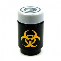 Bio Hazard Canister (Black / Yellow)