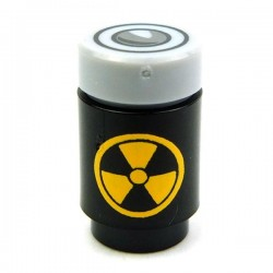 Radiation Canister (Black / Yellow)