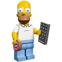 Lego Minifig Serie S Les Simpson 71005 Homer (La Petite Brique)
