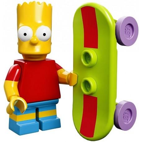 Lego Minifig Serie S Les Simpson 71005 Bart Simpson (La Petite Brique)
