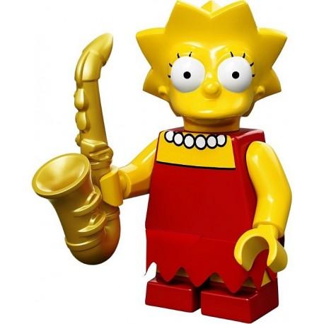 Lego Minifig Serie S Les Simpson 71005 Lisa Simpson (La Petite Brique)