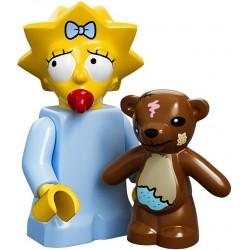 Lego Minifig Serie S Les Simpson 71005 Maggie Simpson (La Petite Brique)