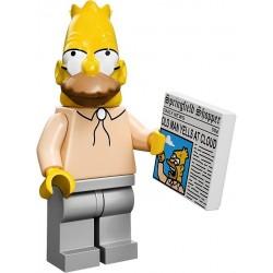 Lego Minifig Serie S Les Simpson 71005 Grampa Simpson (La Petite Brique)