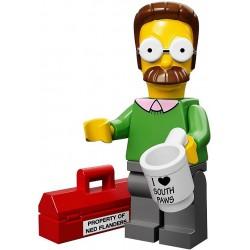 Lego Minifig Serie S Les Simpson 71005 Ned Flanders (La Petite Brique)