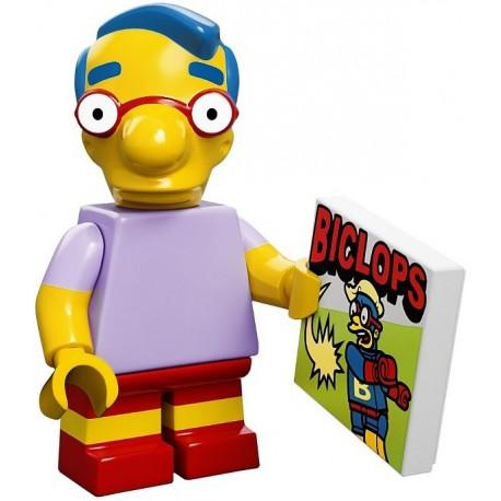 Lego Minifig Serie S Les Simpson 71005 Milhouse Van Houten (La Petite Brique)