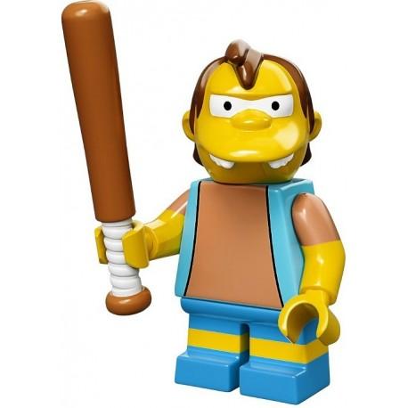 Lego Minifig Serie S Les Simpson 71005 Nelson Muntz (La Petite Brique)