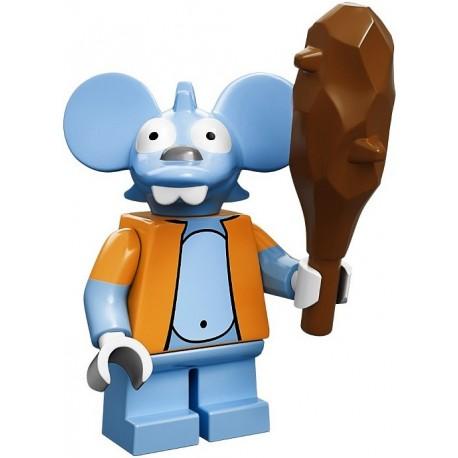Lego Minifig Serie S Les Simpson 71005 Itchy (La Petite Brique)