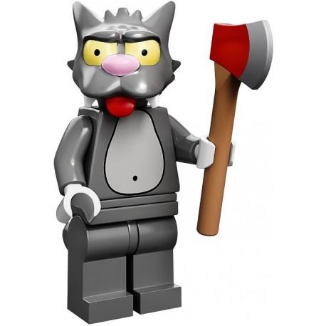 Lego Minifig Serie S Les Simpson 71005 Scratchy (La Petite Brique)