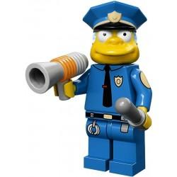 Lego Minifig Serie S Les Simpson 71005 Chef Wiggum (La Petite Brique)