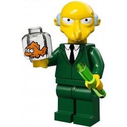 Lego Minifig Serie S Les Simpson 71005 Mr. Burns (La Petite Brique)