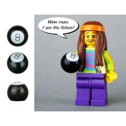 Lego Accessoires Minifig CUSTOM BRICKS Boule magique 8 (La Petite Brique)