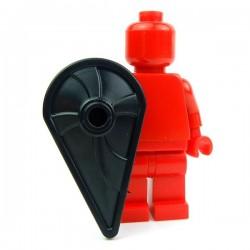 Lego Accessoires Minifig Custom BRICK WARRIORS Bouclier Kite (noir) (La Petite Brique)
