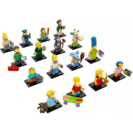 LEGO Serie S Les Simpson - 16 minifigures - 71005 (La Petite Brique)