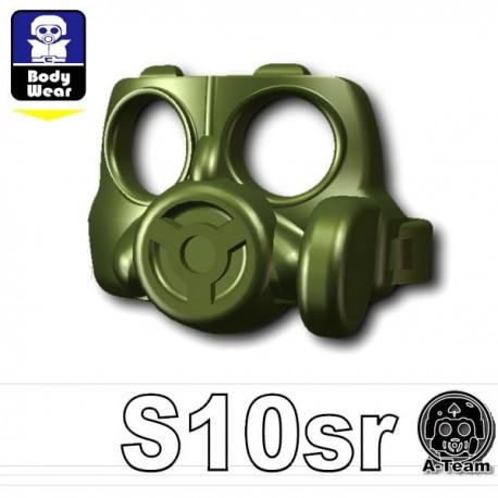 Lego Accessoires Minifig Si-Dan Toys Masque à gaz S10sr (Vert Militaire) (La Petite Brique)