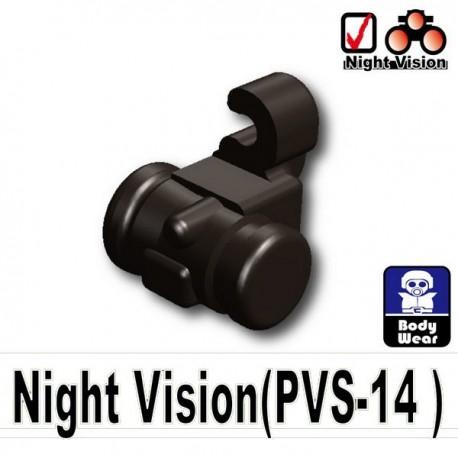 Lego Accessoires Minifig Si-Dan Toys Night Vision (PVS-14) (Pearl Dark Black) (La Petite Brique)