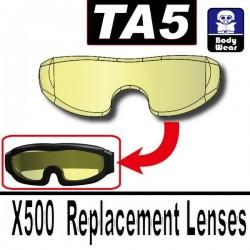 Lego Accessoires Minifig Si-Dan Toys TA5 (verre pour lunette X500) (Trans-Yellow) (La Petite Brique)