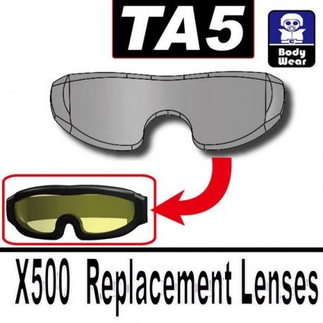 TA5 (X500 Replacement Lenses) (Trans-Black)