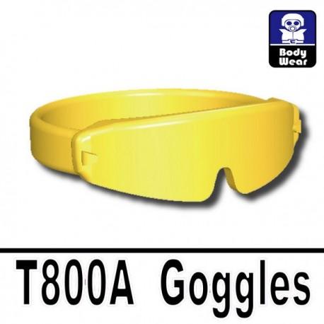 Lego Accessoires Minifig Si-Dan Toys Lunettes T800A (Gold) (La Petite Brique)