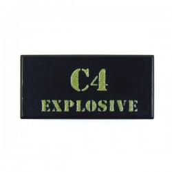 C4 Explosive (Tile 1x2 - Black)