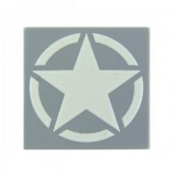 WWII Star (Tile 2x2 - LBG)