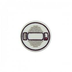 Smoke Detector (Round Tile 1x1 - White)