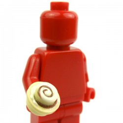 Lego Custom Minifig eclipseGRAFX Patisserie Cinna Stud (La Petite Brique)